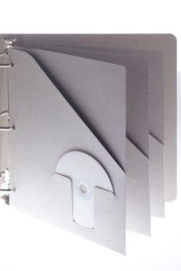 Insertable binder pocket