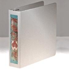 Naked Binder - bare board binder with label