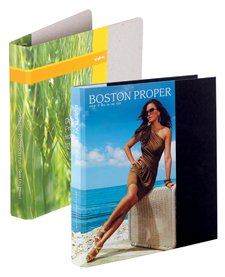 short run printed binders - corporate Image