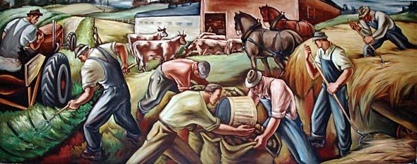 wpa mural eugene OR