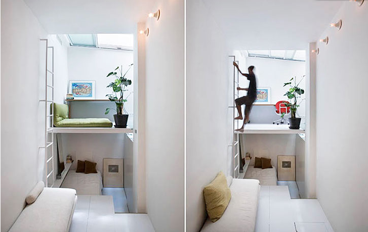 A beautiful but tiny apartment remodel