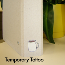 Temporary-Tattly Tattoo binder