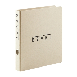 foil stamped 3-ring binder for classic look