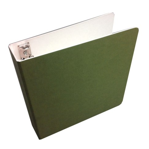recycled, recyclable eco friendly binder - in green!