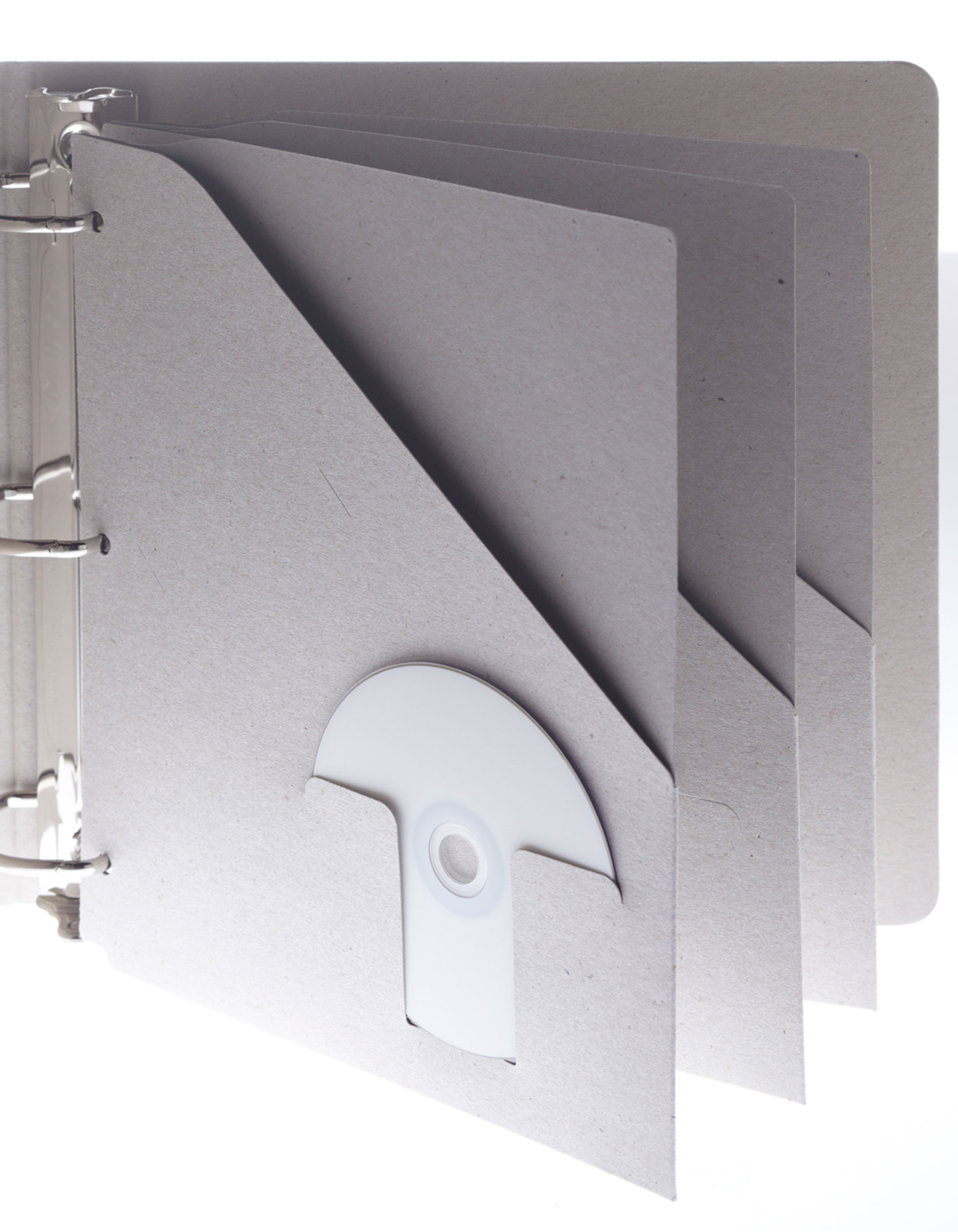 need a pocket folder for your 3 ring binder recycled recyclable