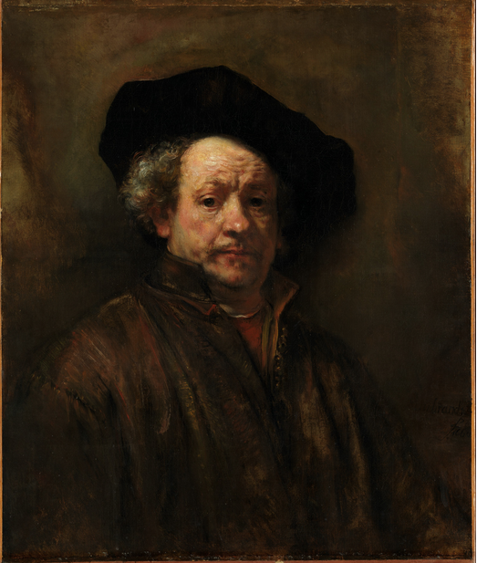 Rembrant self portrait