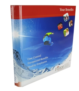 custom printed recyclable 3 ring binder