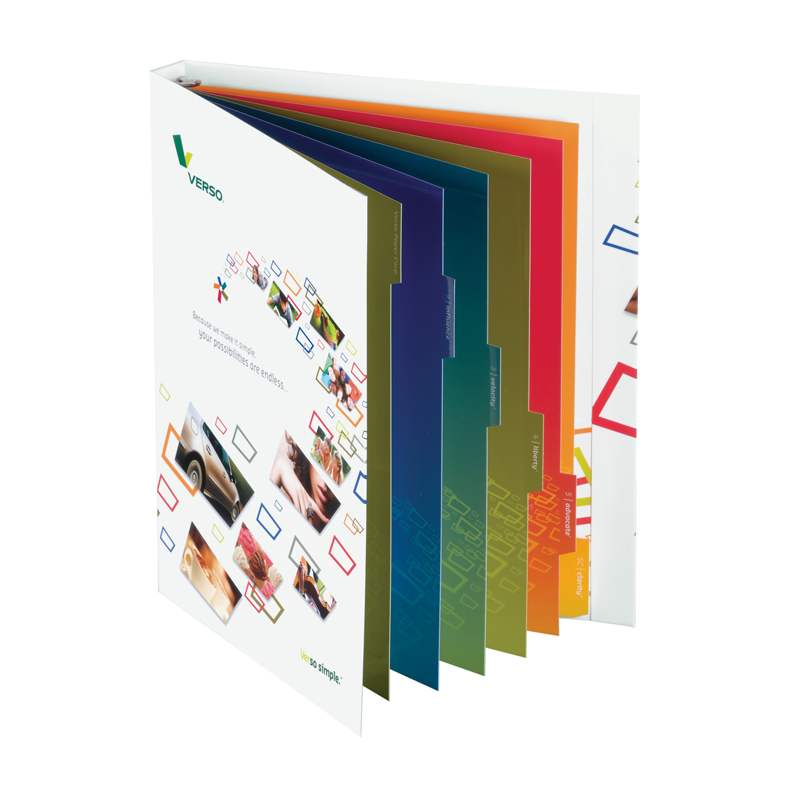 presentation ring folder, presentation binder - Corporate Image