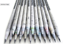 Tree Smart recycled newspaper pencils