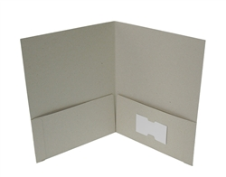 recycled, non-toxic two pocket folders